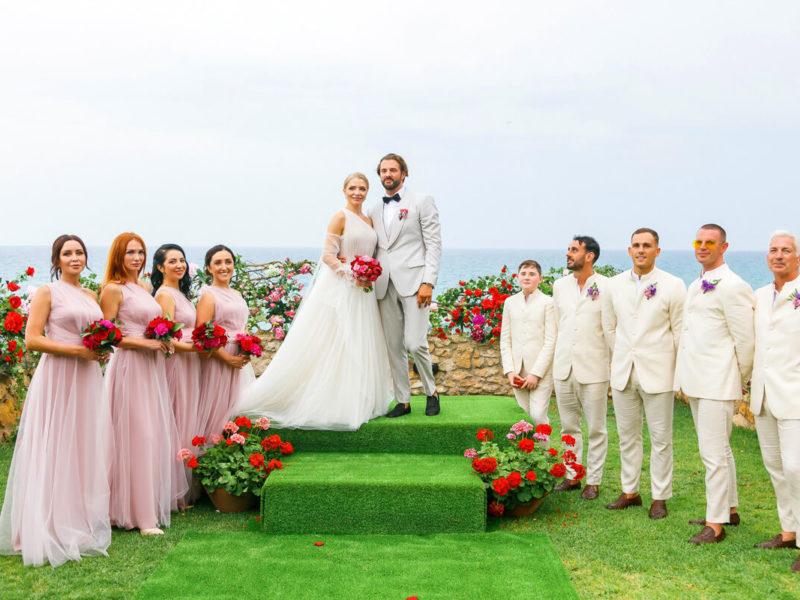 Свадьба с гостями
